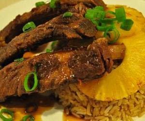 Filipino Pork Ribs And Bananas Recipe