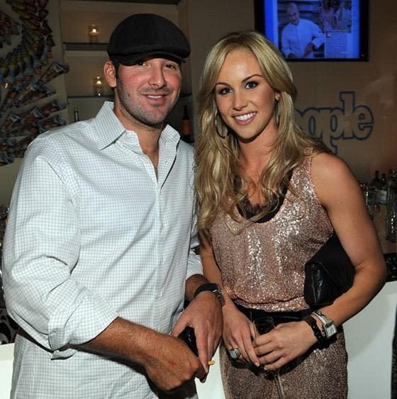 Tony Romo Engaged to Candice Crawford
