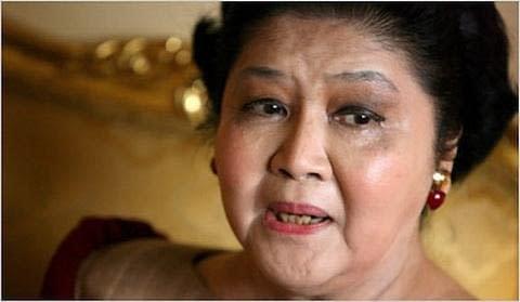 Imelda Marcos 'violated' by artwork seizure: lawyer