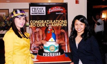 Le Cordon Bleu Pasadena graduate designs Pacquiao's cake