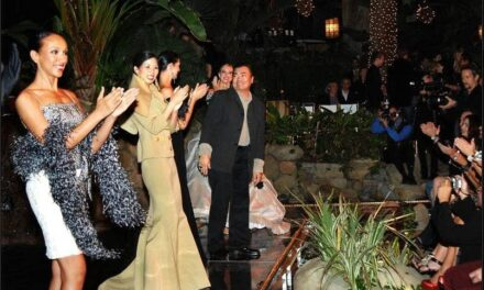 David Tupaz's 'Holiday Couture Collections' debuts on a star-studded night