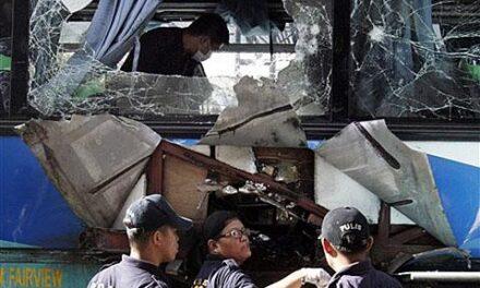 Terror alert in Philippines after bus bomb kills 4