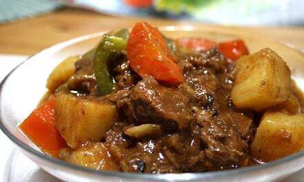 Tender Beef Mechado recipe
