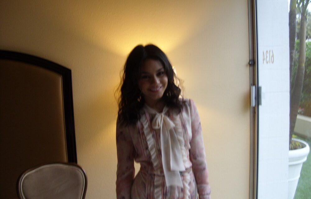 One on one with Vanessa Hudgens