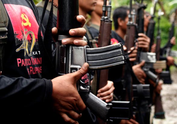 NPA rebels raid two plantations in one day