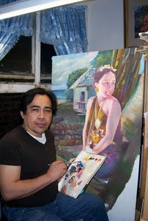 Noted global artist Mat Relox immortalizes the charming Mangyan life