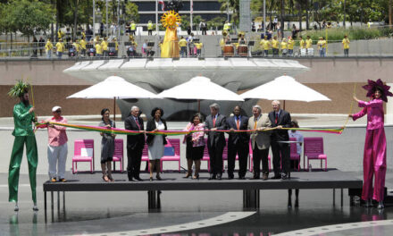 Los Angeles Grand Park is now open to the public