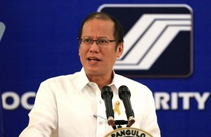 """President Benigno S. Aquino III graces the 55th Founding Anniversary of the Social Security System (SSS) at the Ramon Magsaysay Hall, SSS Building in Quezon City on Monday (September 03). The Anniversary theme, """"Sa SSS: Kabuhayang Pinagsikapan, Seguridad Maaasahan"""" highlights the promise of SSS to protect the hard-earned contributions of its members - even their very livelihood - through prudent management of its investments, rationalized benefits programs, and streamlined operations. (MNS photo)"""