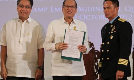 President Aquino leads 21st anniversary of the Bureau of Fire Protection