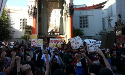 Fil Vets, Supporters March to Hollywood on Veterans Day