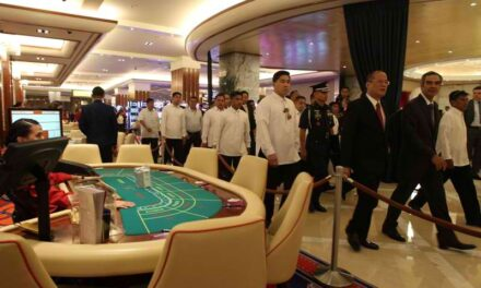 Entrance fee proposed to deter local patrons from entering gambling casinos