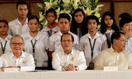 President Aquino says government remains focused in providing quality education for Filipino students