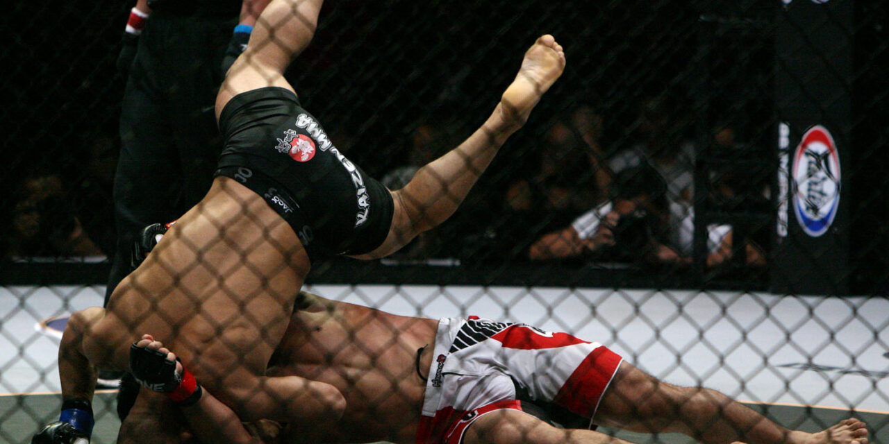 Asian fighters cash in on rise of mixed martial arts