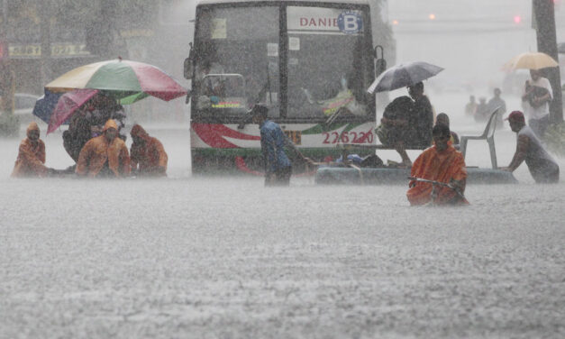 600,000 affected by Maring, monsoon rains