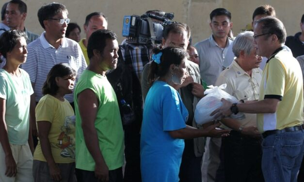 President Aquino says national government temporarily takes over LGU in Leyte to strengthen relief efforts