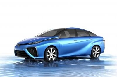 Toyota to unveil concept fuel-cell car at Tokyo Motor Show
