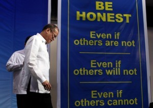 President Benigno S. Aquino III graces the Brotherhood of Christian Businessmen and Professionals