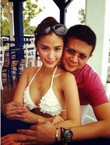 Heart Evangelista and Senator Chiz Escudero (MNS photo)