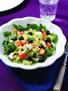 Chilean Blueberry, Butternut Squash and Quinoa Salad