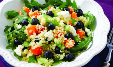 A Healthy, Fruity and Protein-Packed Salad
