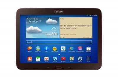 Samsung launches scholarly slate