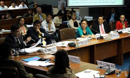 De Lima details rice smuggling schemes: Misdeclaration, 'recycled' permits