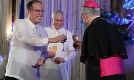 Aquino to bishop: Judge not, lest you be judged