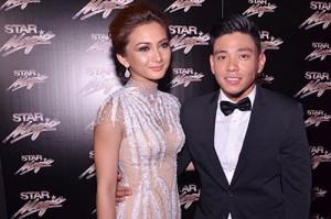 Iya Villania and Drew Arellano (MNS Photo)