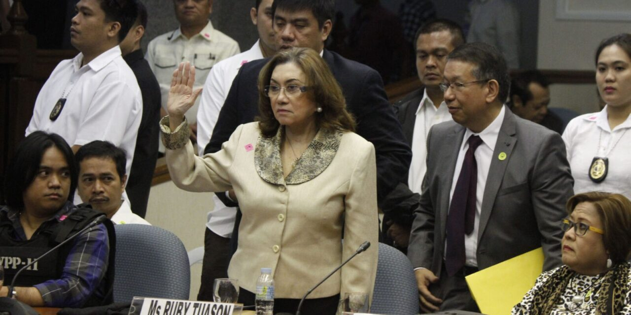Erap: Tuason, Mat Ranillo not fit to become state witnesses
