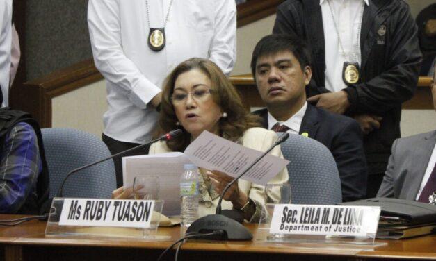 Tuason to appeal immunity application