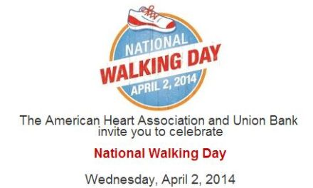 American Heart Association, Union Bank issue LA challenge: Lace up and walk 25 million steps on National Walking Day