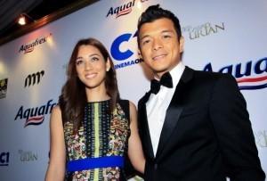 Kim Jones and Jericho Rosales (MNS photo)
