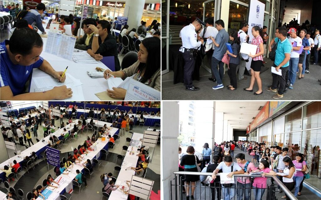 11.5M adult Pinoys jobless in 1st quarter 2014 – SWS poll