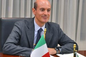 Italian Ambassador to Turkmenistan Daniel Bosio (Photo courtesy of http://ffemagazine.com/)