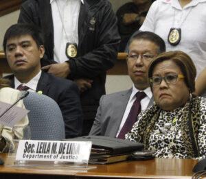Justice Secretary Leila de Lima (MNS Photo)