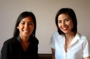Fil-Am entrepreneurs: Geralyn Villaflor and Andrea Cajucom-Hawkens