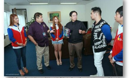 PHL World of Champions of Performing Arts pay courtesy call on Consul General Herrera-Lim