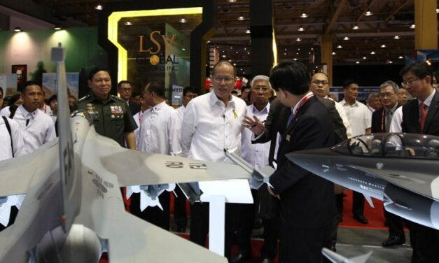 Aquino opens Asian Defense and Security exhibition