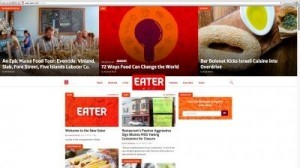 The new Eater.com ©All Rights Reserved/eater.com