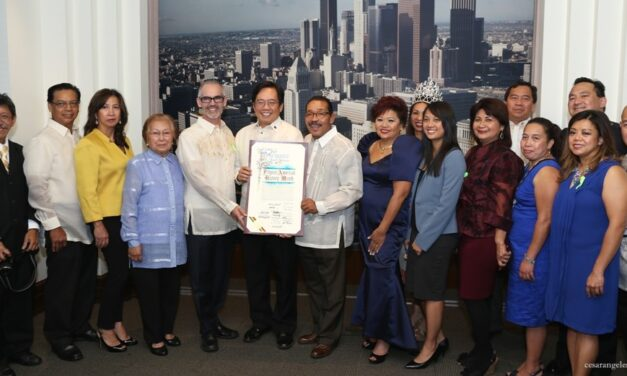 L.A. City Council proclaims October 2014 Filipino-American History/Heritage Month