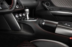 The Audi R8 Competition - Interior The car is exclusive to the US and is the fastest R8 ever built. ©Audi