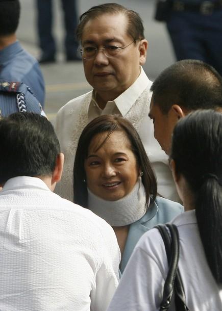 Gloria Arroyo seeks temporary house arrest to attend grandson's wake