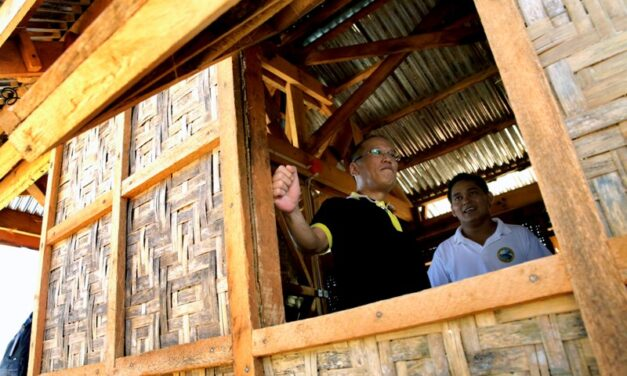 PNoy: 27-km road dike to be constructed as shield vs. storm surges in Leyte