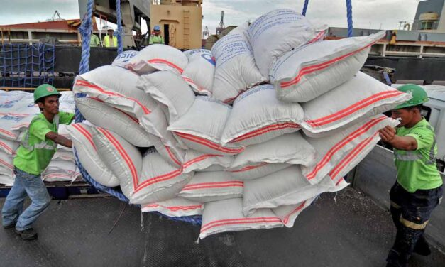Smuggling raps filed against execs of rice import firm
