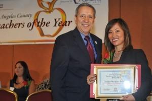 Lovelyn Marquez-Prueher awarded as  California Teacher of the Year