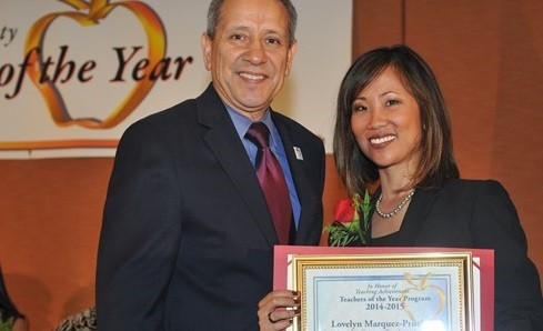 Fil-Am from Cavite is California Teacher of the Year