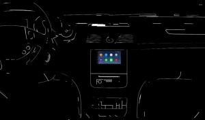 Screen capture of the Parrot RNB 6 in-car infotainment unit. ©Parrot