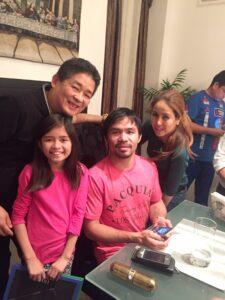 Manny Pacquiao @ Barrio Fiesta Glendale