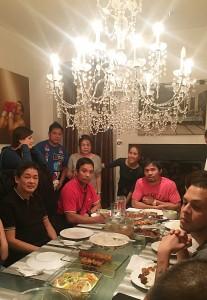 Dinner at Barrio Fiesta Glendale