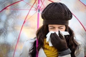 Coming down with the flu is never pleasant, but the good news is it happens only twice a decade after age 30, according to recent research. ©Dirima/shutterstock.com